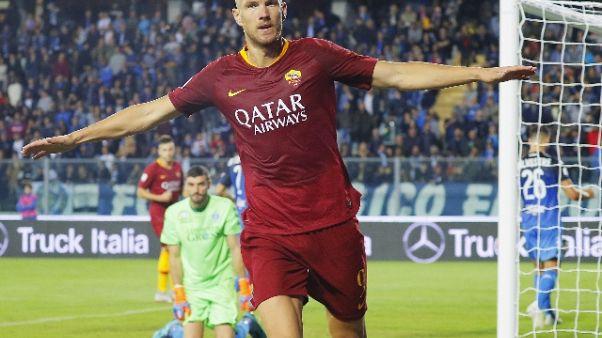 Serie A: Empoli-Roma 0-2