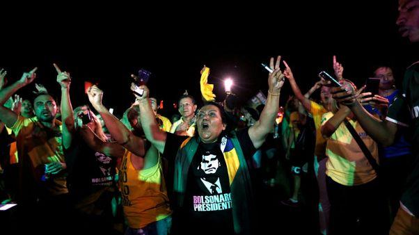 Far right, ex-military officer to face leftist in Brazil presidential runoff