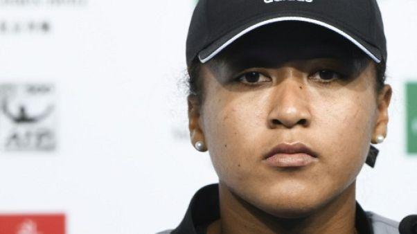 Tennis: Noami Osaka, blessée, déclare forfait pour le tournoi de Hong Kong