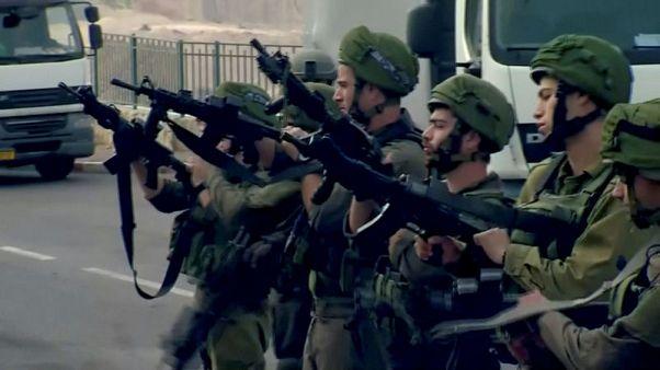 Palestinian gunman kills two Israelis in West Bank - Israeli military