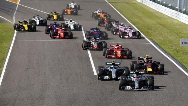 Motor racing - Vettel and Verstappen collide in Japan