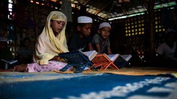 Les madrassas, lieu de paix et de prière pour les enfants rohingyas
