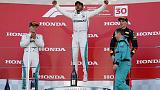 Motor racing - Hamilton wins in Japan, Vettel sixth