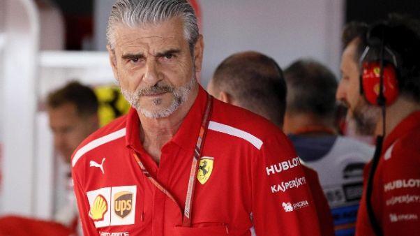 "F1: Arrivabene ""Meritavamo il podio"""