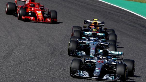 F1: Hamilton a +67, a Austin match point