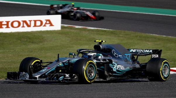 F1: Giappone, vince Hamilton, Vettel 6/o