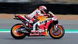 Motorcycling - Marquez snatches win in Thailand after Dovizioso duel