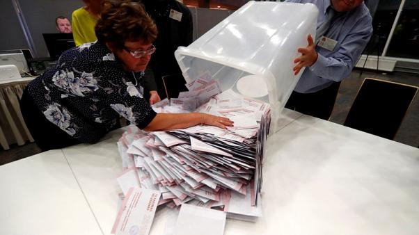 Dissatisfied Latvians turn to newcomers in parliamentary election