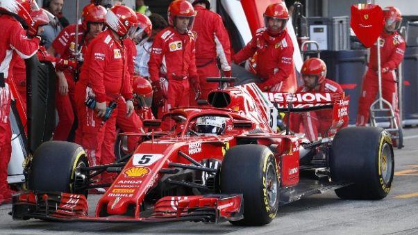 """Vettel amaro """"Gara è stata un disastro"""""""