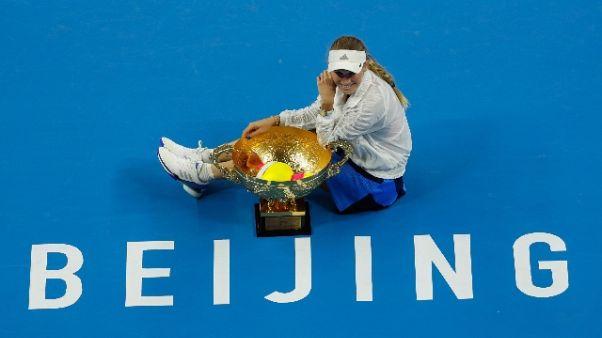 China Open, titolo alla danese Wozniacki