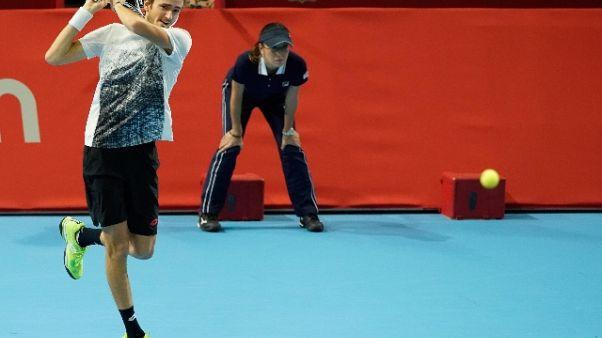 Tennis: Medvedev batte Nishikori a Tokio