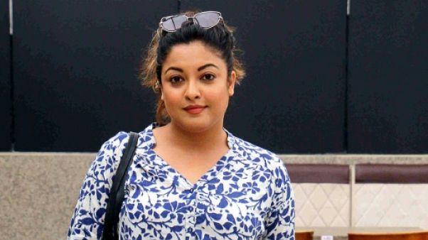 L'actrice indienne Tanushree Dutta, à Bombay le 27 septembre 2018