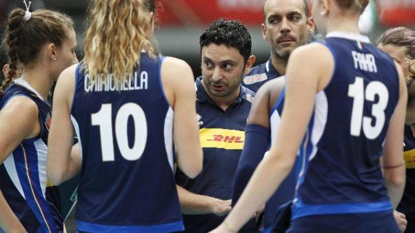 Pallavolo: Italia-Azerbaigian 3-0