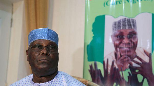 Ex-VP Abubakar named opposition challenger to Nigeria's president