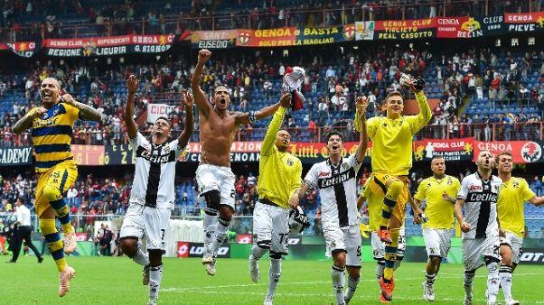 Piatek non basta, Genoa-Parma 1-3