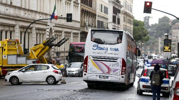 Investito da bus: Raggi, regole ci sono