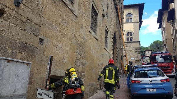 Allarme antincendio in Archivio Arezzo
