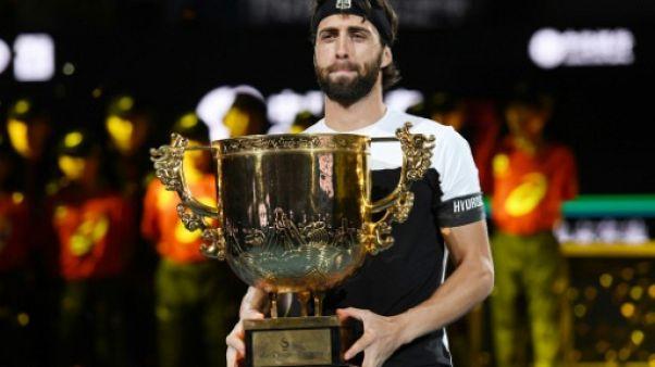Tennis: Basilashvili s'offre le titre à Pékin contre un Del Potro diminué