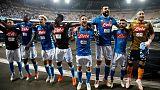 هدفان رائعان يحافظان لنابولي على المركز الثاني وانتصار ثنائي ميلانو