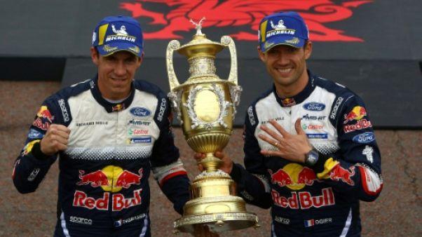 Rallye de Grande-Bretagne: Ogier gagne et se relance dans la course au titre