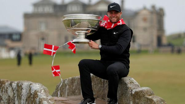 Golf - Bjerregaard denies Hatton to claim Dunhill Links crown
