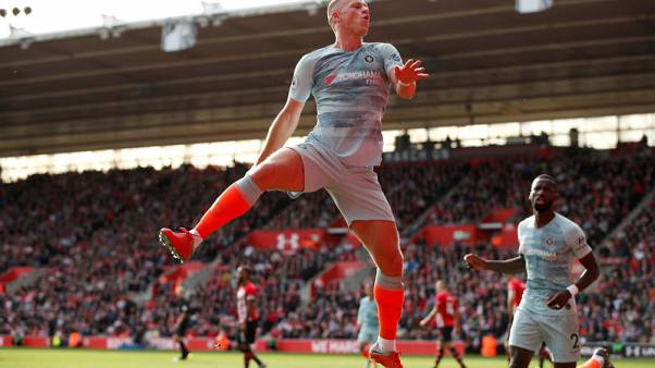 Impressive Barkley drives Chelsea past Southampton