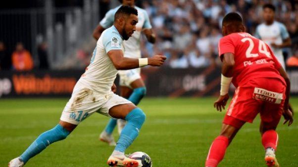 Le Marseillais Dimitri Payet contre Caen en Ligue 1, le 7 octobre 2018