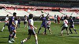 JOJ: les rescapés de la grotte en Thaïlande disputent un match contre River Plate