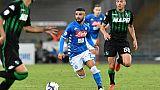 Italie: Naples ne perd pas la Juventus de vue