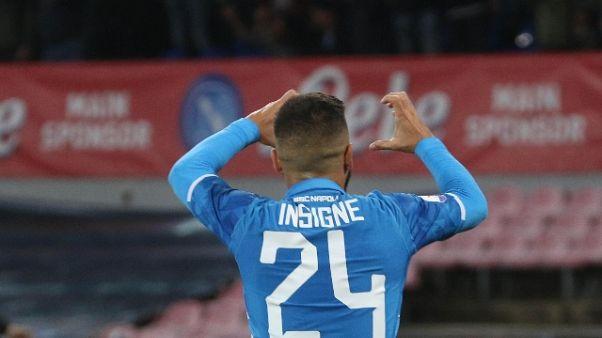 """Napoli: Insigne """"ora sono più sereno"""""""