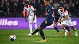 Choc de L1: PSG mène devant Lyon 1-0 à la pause