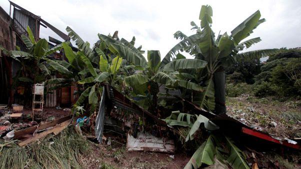 Heavy rains across Central America leave 12 dead