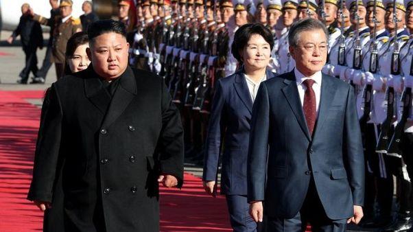 North Korea leader Kim Jong Un expected to visit Russia soon - South Korea's Moon