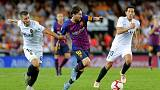 Barca lose Liga lead to Sevilla after draw at Valencia