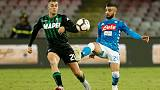 Two stunning strikes keep Napoli second, Milan teams win