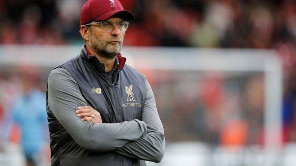 After City draw, Liverpool's Klopp slams 'senseless' Nations League