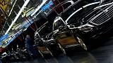 Euro zone investor morale falls on Italy, car industry worries