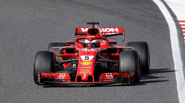 Mission impossible for Vettel as Hamilton nears fifth title