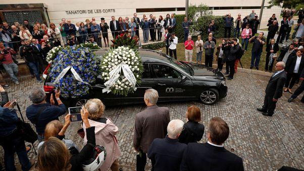 تشييع جنازة السوبرانو الإسبانية مونسرات كاباليه