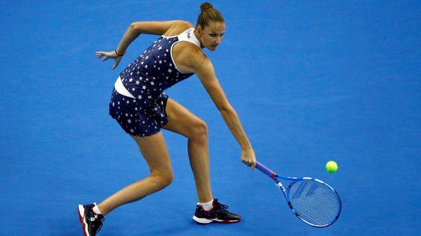 Pliskova sees off Lepchenko in Tianjin opener