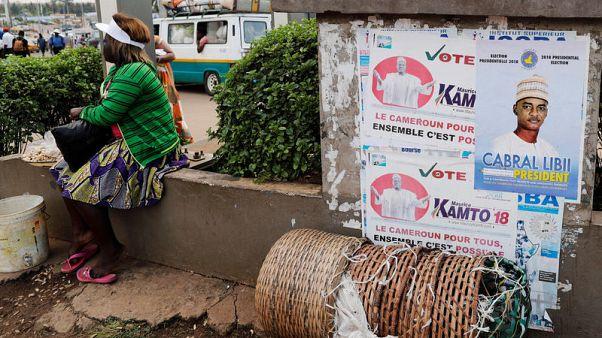 مرشح للمعارضة يعلن فوزه في انتخابات الرئاسة في الكاميرون