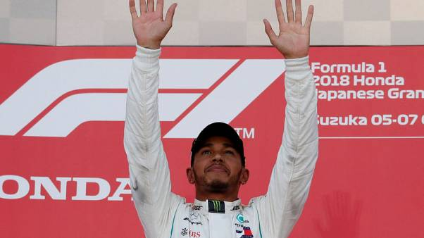 Motor racing - Hamilton is stepping into Schumacher territory