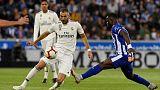 Soccer - Real striker Benzema suffers hamstring injury