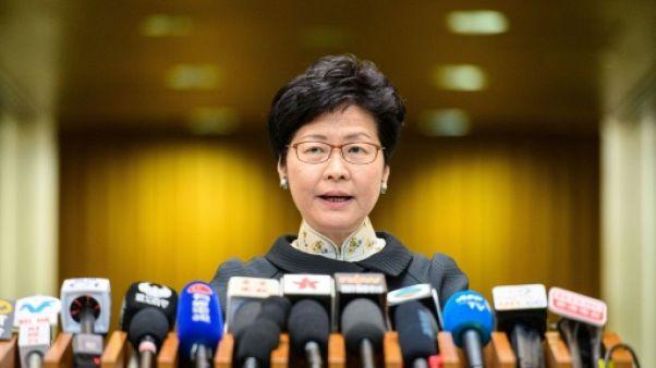 La chef du gouvernement de Hong Kong Carrie Lam, le 9 octobre 2018