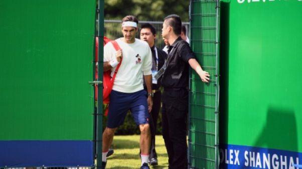 Tennis Federer se sent prêt à défendre son titre à Shanghaï