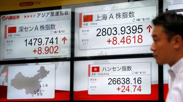 نيكي ينزل لأدنى مستوى في 3 أسابيع وسط مخاوف بشأن الصين وارتفاع العوائد الأمريكية