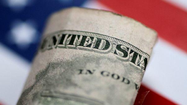 مؤشر الدولار يتراجع من أعلى مستوى في 7 أسابيع والاسترليني يرتفع