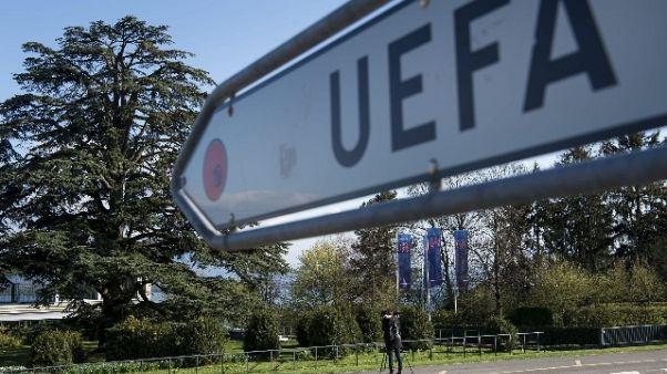 Uefa, veto a tv Israele per Cisgiordania