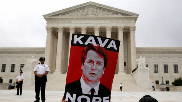 Newly installed Kavanaugh gets to work at U.S. Supreme Court