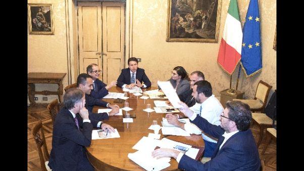 Manovra: stasera vertice a Palazzo Chigi